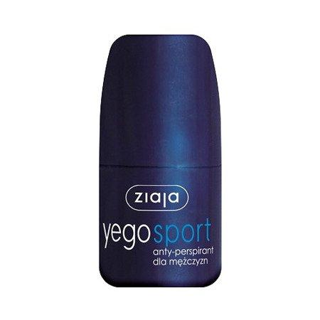 Ziaja Yego SPORT - antyperspirant dla mężczyzn - roll-on, 60 ml.