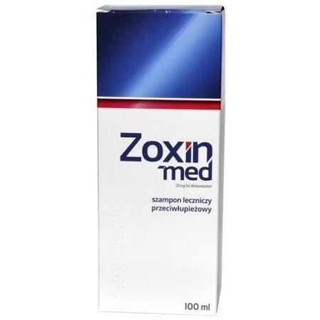 Zoxin-Med - SZAMPON przeciwłupieżowy, leczniczy, 100 ml.