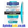 Soraya - Hialuronowy mikrozastrzyk 30+ - KREM wygładzający z kwasem hialuronowym na DZIEŃ i NOC, 50 ml.